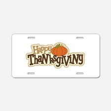 Unique Thanksgiving Aluminum License Plate
