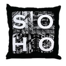 Soho Tee Throw Pillow