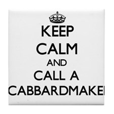 Keep calm and call a Scabbardmaker Tile Coaster