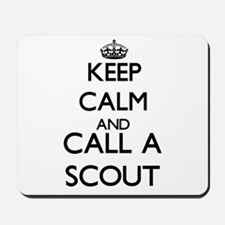 Keep calm and call a Scout Mousepad