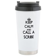 Keep calm and call a Sc Travel Mug