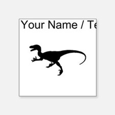 Velociraptor Silhouette (Custom) Sticker