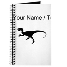 Velociraptor Silhouette (Custom) Journal