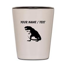 Tyrannosaurus Rex Silhouette (Custom) Shot Glass