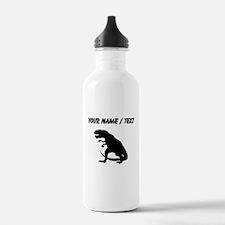 Tyrannosaurus Rex Silhouette (Custom) Water Bottle