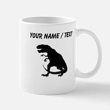 Tyrannosaurus Rex Silhouette (Custom) Mugs