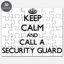 Keep calm and call a Security Guard Puzzle