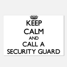 Keep calm and call a Secu Postcards (Package of 8)