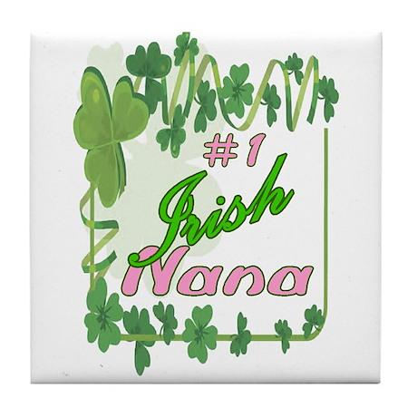 #1 IRISH NANA Tile Coaster