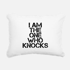 The One Who Knocks Rectangular Canvas Pillow