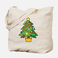 Cute Christmas tree Tote Bag