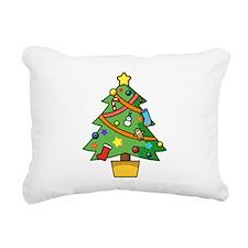 Christmas tree Rectangular Canvas Pillow