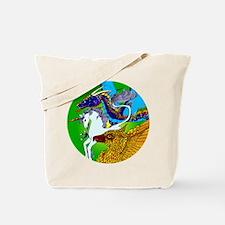 Defenders: Green Tote Bag