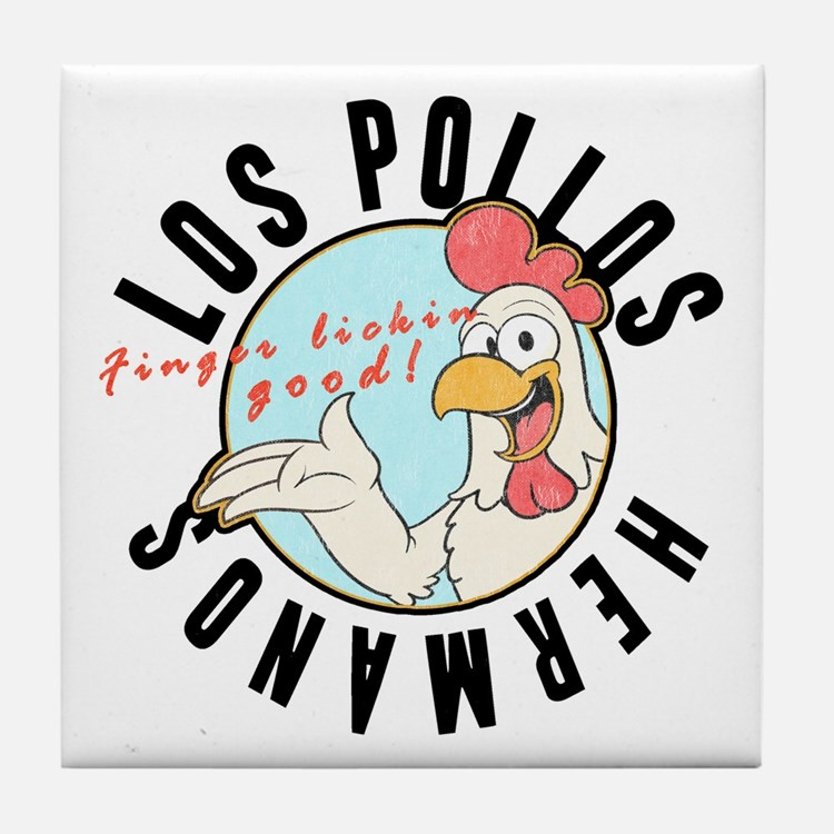 Los Pollos Tile Coaster