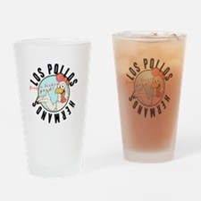Los Pollos Drinking Glass