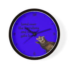 Ferretone withdrawal Wall Clock