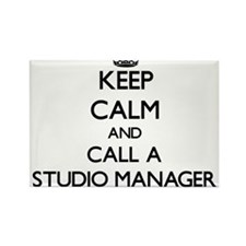 Keep calm and call a Studio Manager Magnets