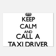 Keep calm and call a Taxi Postcards (Package of 8)