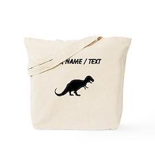 Tyrannosaurus Rex Silhouette (Custom) Tote Bag