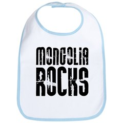 Mongolia Rocks Bib