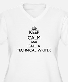 Keep calm and call a Technical W Plus Size T-Shirt