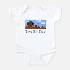 Noah's Ark Two By Two Infant Bodysuit