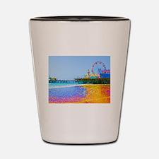 Funky Pixels Pier Shot Glass
