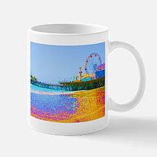 Funky Pixels Pier Mug