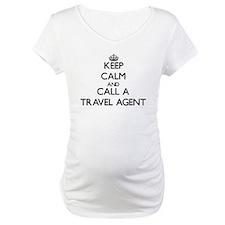 Keep calm and call a Travel Agen Shirt