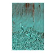 Blue Bike Postcards (Package of 8)
