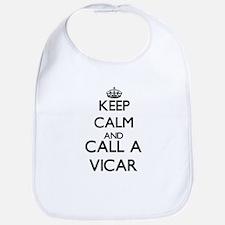 Keep calm and call a Vicar Bib