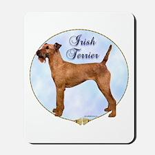 Irish Terrier Portrait Mousepad
