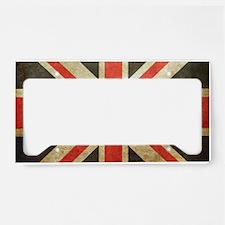 Union Flag License Plate Holder