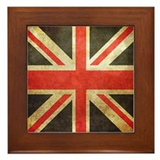 Union Flag Framed Tile