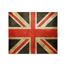 Union Flag Throw Blanket
