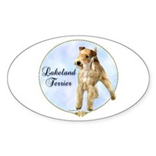 Lakeland Portrait Oval Decal