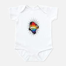 Gay Heart Infant Bodysuit