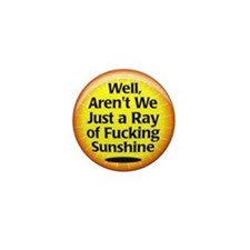 Ray of Sunshine Mini Button