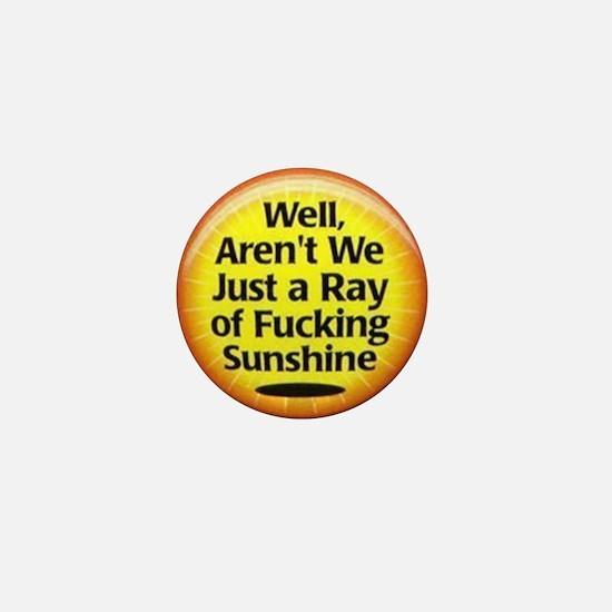 Ray of Sunshine Mini Button