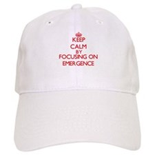 Keep Calm by focusing on EMERGENCE Baseball Cap