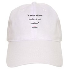 Reagan Borders Quote Baseball Cap
