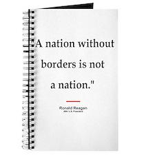 Reagan Borders Quote Journal