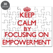 Keep Calm by focusing on EMPOWERMENT Puzzle