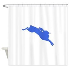 Blue Hare Shower Curtain