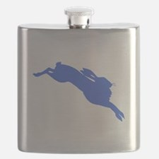 Blue Hare Flask