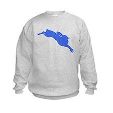 Blue Hare Sweatshirt