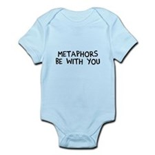 Metaphors Be With You Onesie