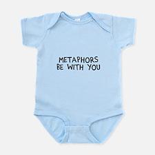 Metaphors Be With You Onesie