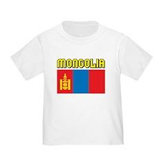 Mongolia Flag T