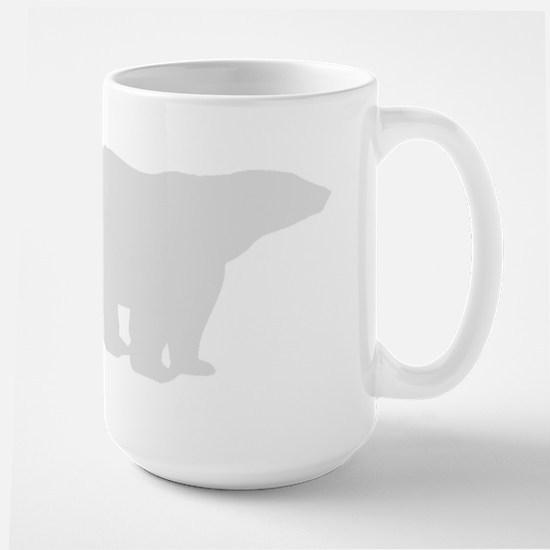 Grey Polar Bear Mugs